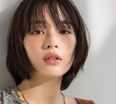 The Beauty Products Japanese Beauty, Asian Beauty, Cut My Hair, Hair Cuts, Attractive Girls, Asian Makeup, Beautiful Asian Women, About Hair, Woman Face