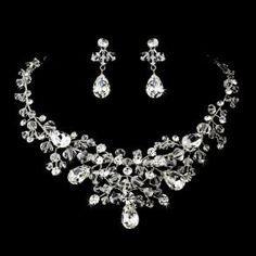 Items similar to Bridal statement necklace SET, Wedding jewelry set, Bridal necklace and earrings, Swarovski crystal jewelry on Etsy Jewelry Logo, Prom Jewelry, Bridesmaid Jewelry Sets, Bridal Jewelry Sets, Bridal Necklace, Crystal Jewelry, Crystal Necklace, Wedding Jewelry, Crystal Beads