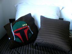 Boba Fett pillow