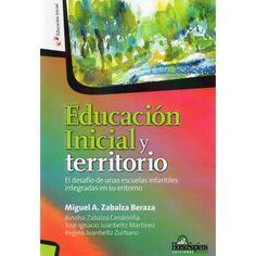 Educación inicial y territorio Referencia  978-950-808-912-0 Condición:  Nuevo  Una de las metas fundamentales de la Educación Inicial implica el conocimiento y la comprensión de la realidad natural y social.