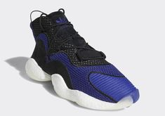 6194760bccb The Futuristic adidas Crazy BYW Is Returning In Concord Purple And Black  Nike Huarache
