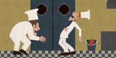 Een ober van niks by David van Neerbos