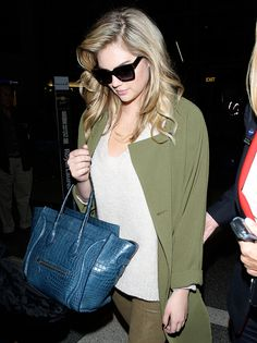 The Many Bags of Kate Upton