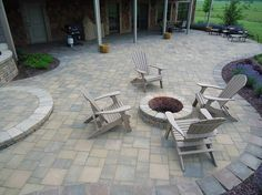 See yourself and your family on this new brick paver patio?  We can make families come together in Warsaw IN & Syracuse IN.