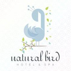 Natural Bird logo by Serdal Sert