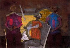 Rufino Tamayo - Tres personajes