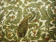 Peacock. Roman Mosaic. Tunisa., via Flickr.