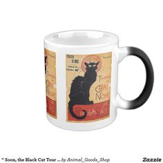 """ Soon, the Black Cat Tour by Rodolphe Salis "" コーヒーマグカップ"