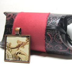 Victorian Antique Bronze Steampunk Square Resin by ElementalKarma, $10.00