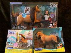 """#GIVEAWAY: #WIN a Breyer Horse collection valued at over $100 for DreamWorks Animation's TV show """"Spirit Riding Free"""" - enter by December 15"""