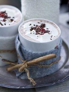.. hot chocolate ...
