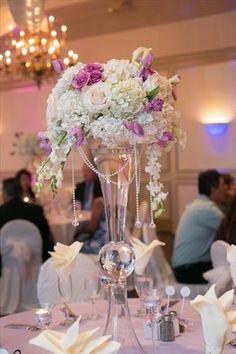 centros de mesa altos para boda - Buscar con Google