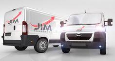 JIM Transport | Logo design