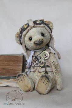 Steampunk Tendencies | Steampunk Teddy Bears By Elena Kamatskaya  Awww so cute!!!!!❤️
