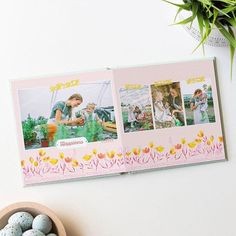 """💐Perfect for Mother's Day--Just released """"Wonderful Things"""" by @goinghometoroost designer Bonnie Christine! Bonnie has some of the most beautiful floral illustrations. Mom will love this theme! Explore via link in our bio.    #Regram via @mixbook"""