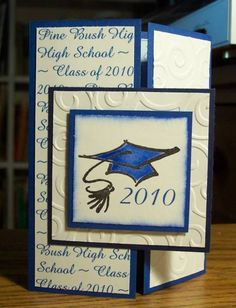 Graduation Announcement by BLN - Cards and Paper Crafts at Splitcoaststampers