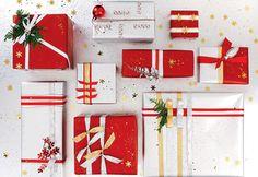 Emballages cadeaux à faire soi-même. #Fetes #Noel #Cadeaux #Diy