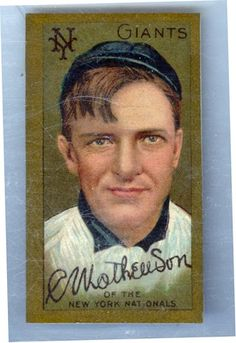 T205 Christy Mathewson www.fairfieldauction.com