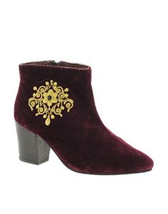 mmm decadent.. (Enlarge Park Lane Embellished Ankle Boot)