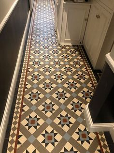 We specialise in Victorian Hallway Tiles and we offer an expert services in sorcing and laying traditional Victorian floor tiles hallway Hall Tiles, Tiled Hallway, Tile Stairs, Hallway Flooring, Victorian Tiles Bathroom, Victorian Mosaic Tile, Mosaic Tiles, Tiling, Hallway Designs