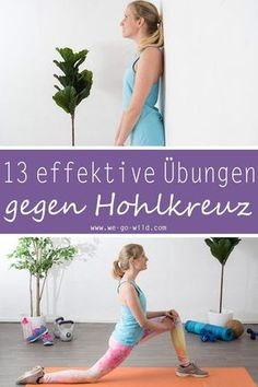 The most effective hollow back exercises at home. With these exercises you can train your hollow back. The most effective hollow back exercises at home. With these exercises you can train your hollow back. Fitness Workouts, Fitness Motivation, Fitness Diet, Fun Workouts, Yoga Fitness, At Home Workouts, Training Fitness, Fitness Logo, Quotes Fitness