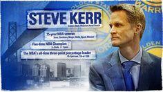 Head Coach Steve Kerr