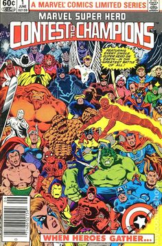 champions marvel comics | Marvel Super Hero Contest of Champions (1982) comic books 1982