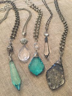 Ahhhhh new lighter and brighter colored pendants  mixed with neutrals for spring.  Email Lisajilljewelry@gmail.com