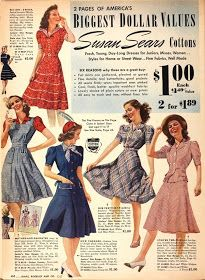 The Girl with the Star-Spangled Heart: Pinspiration: 1940s Summer