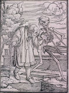 Hans Holbein, the Younger (German, 1497 or 1498–1543) Dance of Death; The Old Man | Museum of Fine Arts, Boston