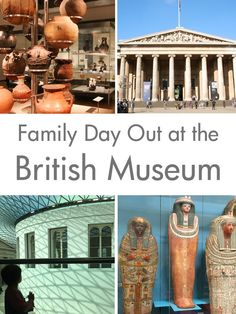 Family Day Out at the British Museum, London