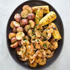 Bring on the Old Bay: Maryland-Style Grilled Shrimp and Corn