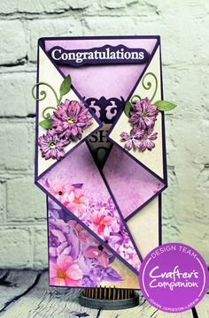 Wishing you Both a Lifetime ……. Fancy Fold Cards, Folded Cards, Pop Up Cards, 3d Cards, Cards Diy, Interactive Cards, Card Patterns, Card Tutorials, Card Envelopes