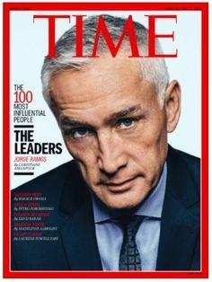 Jorge Ramos es un orgullo latino. ¡Qué emoción que esté en la portada de TIME!