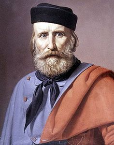 Italy. Giuseppe Garibaldi 1807-1882  Lodge l'ami de la vertu Montevideo. Italian Risorgimento (Unification of Italy) leader