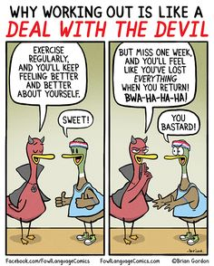 Deal With The Devil | Fowl Language Comics