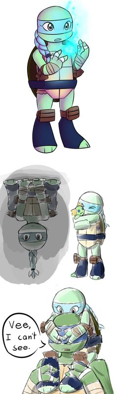 Vee by Jojodear on deviantART<<<-this is soooo cute!!!!! It would be interesting if the turtles had Venus for a little sister in tmnt 2012