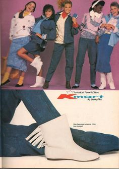 Kmart- Teen Magazine August 1987 Fashion Advertorial '80s Clothes >maybe for…