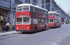 Trolleybus de Porto Portugal 1958
