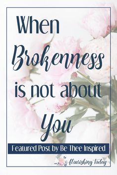 Do you feel stuck in your brokenness? God uses broken vessels to help others. In the midst of our brokenness we begin to realize it isn't about us. #overcome #adversity #challenges