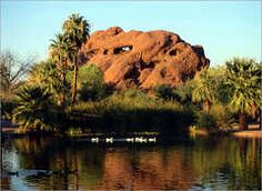 Hole in the Rock, Tempe, AZ.  Walking distance from my house.