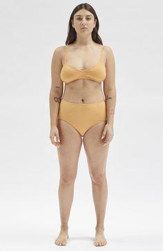 Product Details:Soft organic cotton undies in a high-rise style. Bikinis, Swimwear, Organic Cotton, Style, Fashion, Swag, Moda, Fashion Styles, Bikini Swimsuit
