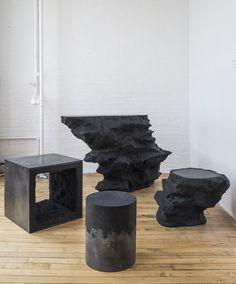 furniture coated in salt