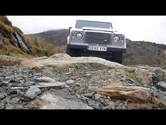 Driving a force of nature - The National Trust tests a new electric Land Rover Defender  @nationaltrust