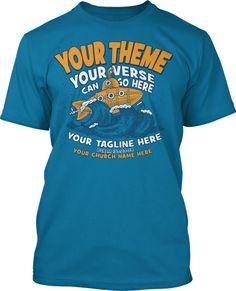 Submarine Submerged VBS 2016 T-Shirt Design #16202
