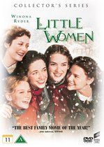 Little Women Director: Gillian Armstrong 118 min Drama Stars: Winona Ryder Susan Sarandon Christian Bale Gabriel Byrne ~ Based on the book by Louisa May Alcott, it tells the story of the four March sisters as they grow up and find true love. Samantha Mathis, Gabriel Byrne, Susan Sarandon, Winona Ryder, Christian Bale, Early Christian, Louisa May Alcott, Old Movies, Great Movies
