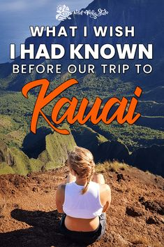 Kauai is the best Hawaiian Island to visit if you love outdoor adventures. Read about the top things to know before visiting Kauai! Kauai Vacation, Hawaii Honeymoon, Kauai Hawaii, Hawaii Life, Dream Vacations, Vacation Spots, Best Hawaiian Island, Hawaiian Islands, Hawaii Things To Do