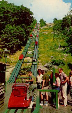 The famous Mt. Cranmore Skimobile, North Conway, New Hampshire ...