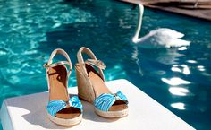#yearofpattern swan dive, featuring the candice wedges