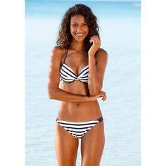 daf98ace157ad Gestreepte push-up bikini VENICE BEACH Venice Beach